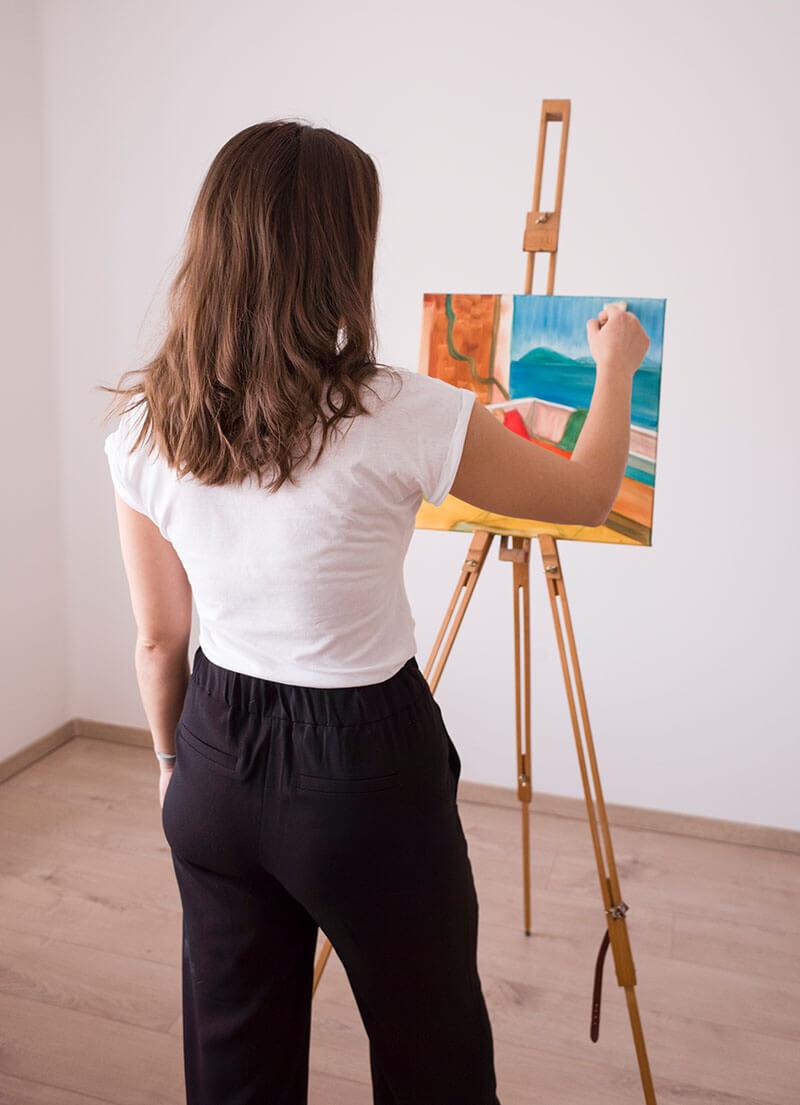 Festmény vásárlás - Dolhai Izabella